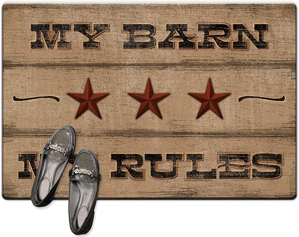 Highland Home Decorative Anti Fatigue Floor Mat My Barn My Rules