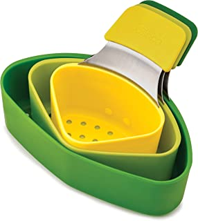 Joseph Joseph 40083 Nest Steam Stackable Steamer Basket Set with Three Compartments (3 Piece), One Size, Green