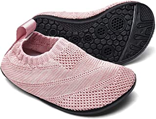 Sosenfer Zapatillas de Estar por casa Kids Slipper Calcetines Zapatos Antideslizantes de Punto para niños y niñas Pantufla...