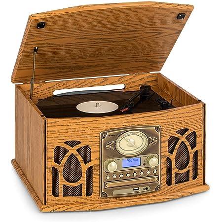 Auna Nr 620 Dab Stereoanlage Plattenspieler Elektronik