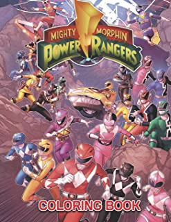 Power Rangers Coloring Book: 39 Exclusive Illustrations