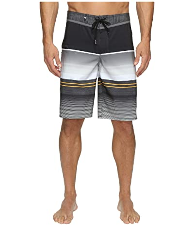 Quiksilver Everyday Stripe Vee 21 Boardshorts (Tarmac 1) Men