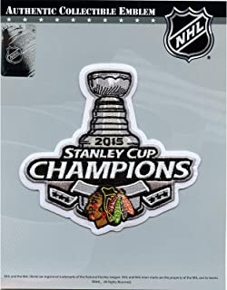 Best 2015 NHL Stanley Cup Final Champions Chicago Blackhawks Jersey Commemorative Patch Review