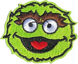 Oscar Grouch Cosplay Iron On Patch