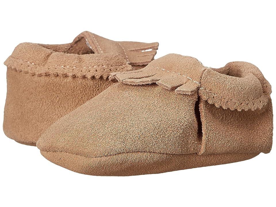 Hanna Andersson Baby Moc (Infant/Toddler) (Natural) Kids Shoes