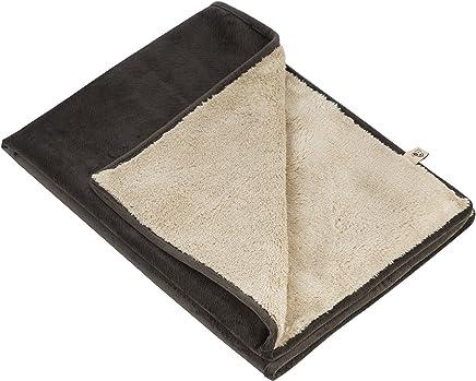 Jax and Bones Coal Fur Velour Standard Pet Blanket