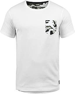 Calvin Camiseta Básica De Manga Corta T-Shirt para Hombre con Cuello Redondo