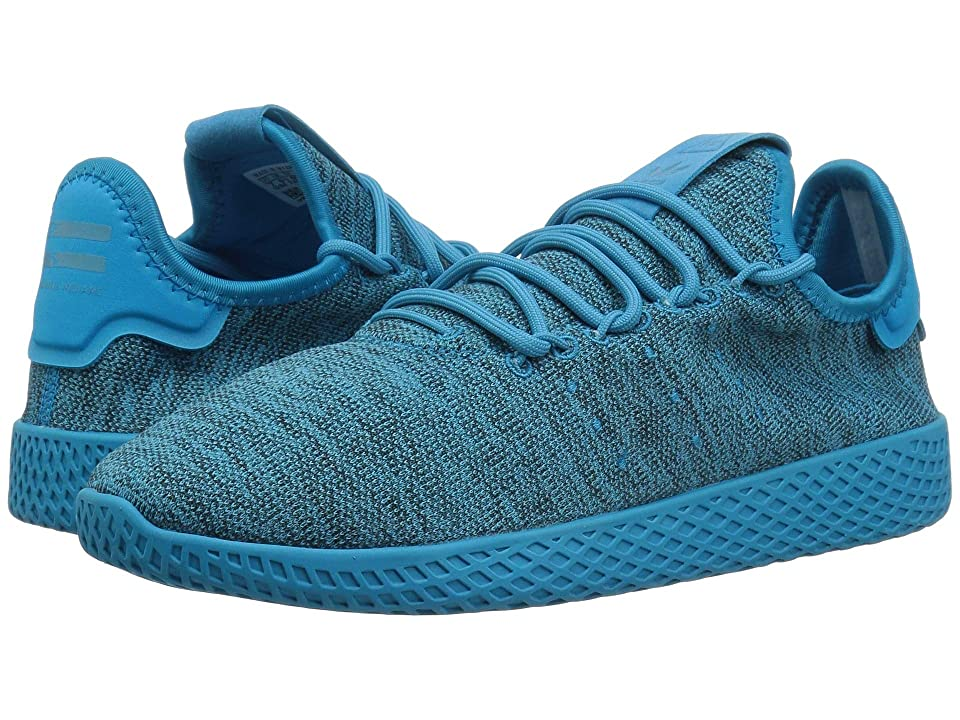 adidas Originals Kids PW Tennis HU J (Big Kid) (Aqua/Chalk White) Kids Shoes