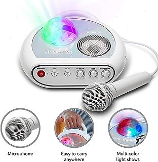 Karaoke Machine for Kids - Singsation Party Portable Kids Karaoke Machine - Comes with Microphone, Room Filling Light Show & works via Bluetooth – No CDs – YouTube Your Favorite Karaoke Songs