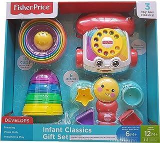 Fisher-Price 2140446 - Juego de 3 cajas de juguete para niños