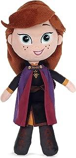 Disney 37394 Frozen 2 Anna Soft Doll-25cm, Purple