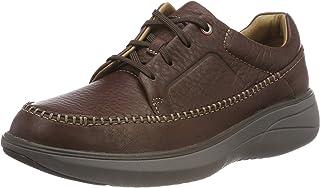 Clarks Un Rise Lace, Men's Shoes, Brown (Mahogany 116), Size 46 EU