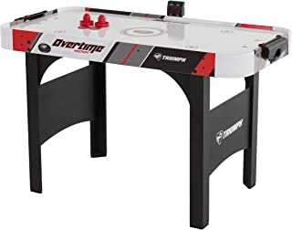 "Triumph Overtime 48"" Air-Powdered Hockey Table Includes 2 Strikers and 2 Pucks Perfect for Junior-Sized Players"