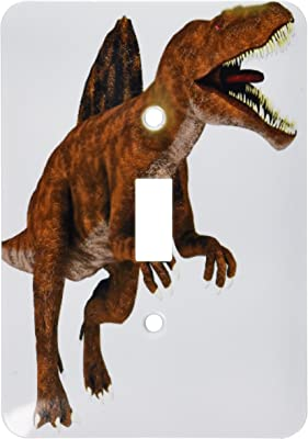 3dRose LSP/_239828/_2 Tyrannosaurus Rex Dinosaur Looking to The Front and Roaring-Double Toggle Switch