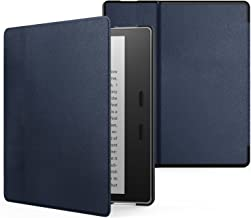MoKo Case Fits All-New Kindle Oasis (9th and 10th Generation ONLY, 2017 and 2019 Release), Premium Ultra Lightweight Shell Cover with Auto Wake/Sleep - Indigo