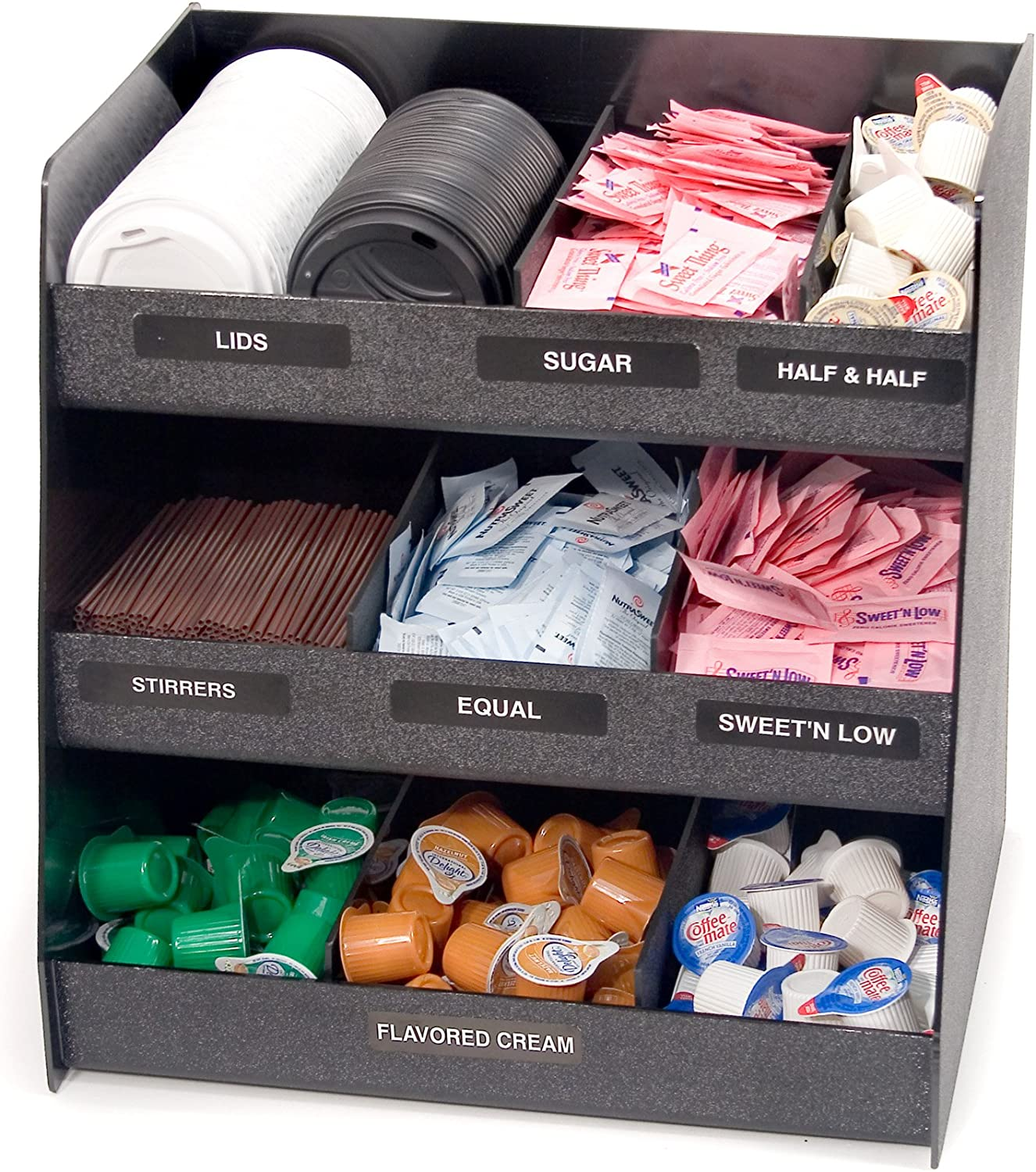 Indianapolis Mall Vertiflex Animer and price revision Vertical 3-Shelf Condiment 9 Compartments Organizer