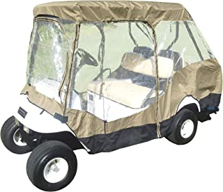 Best classic electric cart covers travel 4 sided Reviews