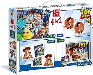 Clementoni 18058 Edukit 4-in-1 Toy Story 4, Multicolour