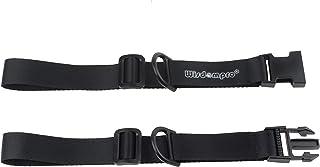 チェストストラップ Wisdompro® リュックずり落ち防止ベルト バックル式 調整可能 バックパック/リュック用バンド 肩紐固定 ブラック