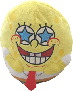 SpongeBob SquarePants Round Star Eyes Plush Soft Toy 20Cm (Round Sb3)