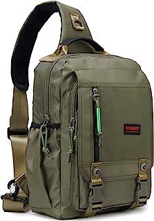 Sling Bags Chest Shoulder Backpacks, 13.3'' 14.1'' Laptop Backpack Crossbody Messenger Bag Travel Outdoor Men Women