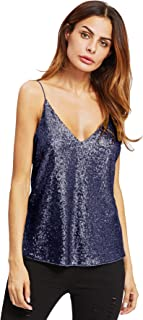 Best navy blue sequin shirt Reviews