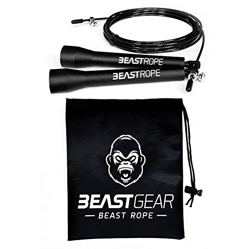 300d8ccb6be6 Beast Rope by Beast Gear – Speed Skipping Rope for Fitness