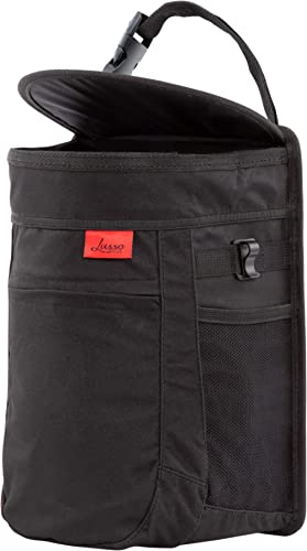 Lusso Gear Spill-Proof Car Trash Can - 2.5 Gallon Hanging Garbage Bin, Odor Blocking Technology, Removable Liner, Sto...