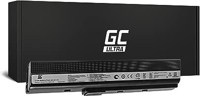 Green Cell Ultra Serie A32-K52 Laptop Akku f r ASUS A52 K52 K52D K52F K52J K52JC K52JE K52JR K52JT K52N X52 X52J X52N  Original Panasonic Zellen  6800mAh  Schwarz