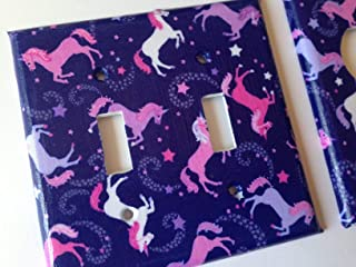 Unicorn Light Switch Cover Various Sizes Offered