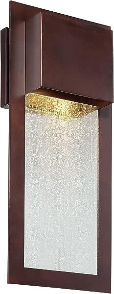 Minka Lavery Modern Outdoor Wall Light 72382 246 Westgate Dark Sky Exterior Wall Lantern 35w Halogen Bronze