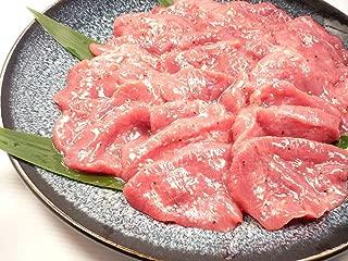 塩ダレ 厚切り 牛たん スライス 500g 味付き 牛タン塩 BBQ 業務用パック・塩だれ牛タン・