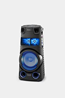 Sony MHC-V73D High Power Audio System with Bluetooth Technology | V73D Home Audio System with 360 Degree Light and Sound