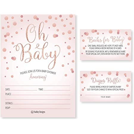 Baby Sprinkle by Mail Invitation Set: Instant download Diaper Raffle /& Thank You Cards Virtual Baby Sprinkle Invite Book Request