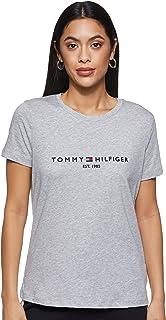 Tommy Hilfiger Women's New Th Ess Hilfiger C-nk Tee Ss New Th Ess Hilfiger Crew Neck