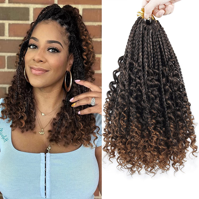 Save money Goddess Box Braids Crochet Hair C 14 7Packs Inch Boho Elegant
