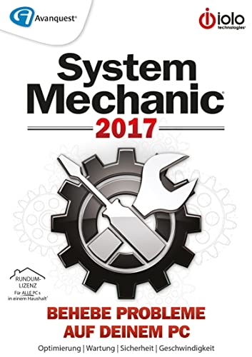 Avanquest/Iolo -  System Mechanic 2017