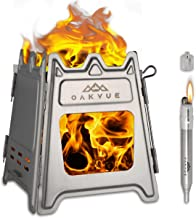 Fits Butane Propane Canister Hiking Cooking LBI Camping Stove Backpacking Stove 3000W Portable Lightweight 0.21 Pound Foldable Camp Stove Pocket Rocket Stove with Piezo Lighter for Camping Travel