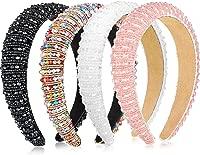 Details about  /Women/'s Crystal Rhinestone Headband Hairband Hair Hoop Teeth Hair Accessories ~