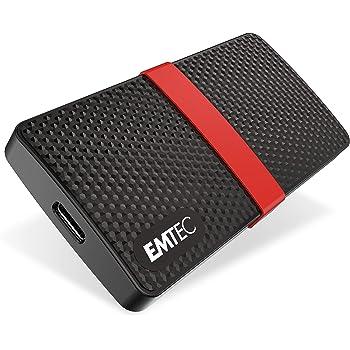 Emtec X200 - Disco Duro SSD portátil (1 TB, USB-C 3.2, 5 Unidades ...