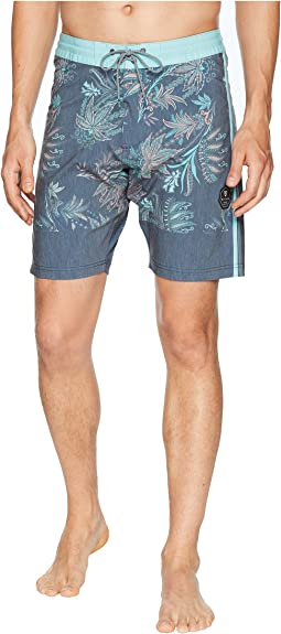 Boho Coast Four-Way Stretch Boardshorts