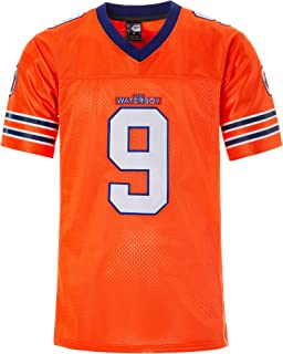 Men's Boucher Water boy Football Jersey M-XXXL Orange, 90S Hip Hop Clothing for Party, Stitched Letters and Numbers