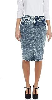 Esteez Jean Skirt for Women Powerstretch Denim with Tummy Control