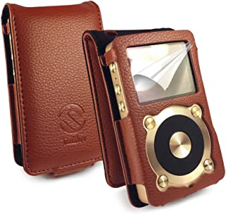 Tuff Luv Faux Leather Case Cover for Fiio X1 - Brown