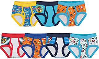 Boys Toddler Paw Patrol Brief, Pack of Seven