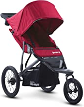 Best Joovy Zoom 360 Ultralight Jogging Stroller, Large Canopy, Lightweight Jogger, Extra Large Air Filled Tires, Red Review