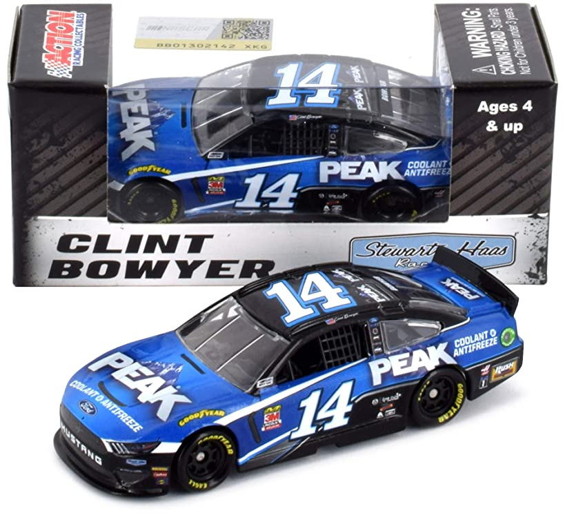 Lionel Racing Clint Bowyer #14 Peak 2019 Ford Mustang NASCAR Diecast 1:64 Scale