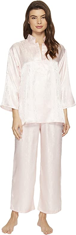 N by Natori - Congo Satin Long Sleeve PJ