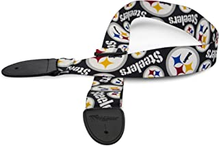 The Sports Vault NFL Unisex-Adult Woodrow Guitar NFL Adjustable Guitar Strap
