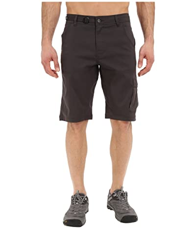 Prana Stretch Zion 12 Short (Charcoal) Men